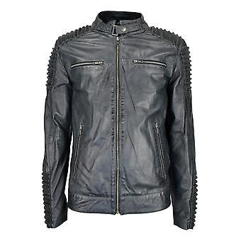 Men's Leather Jacket Infinity