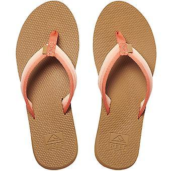 Reef Womens Voyage Lite Beach Pool Summer Flip Flop Thongs Sandals - Paprika