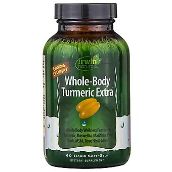 Irwin Naturals, Whole-Body Turmeric Extra, 60 Liquid Soft-Gels