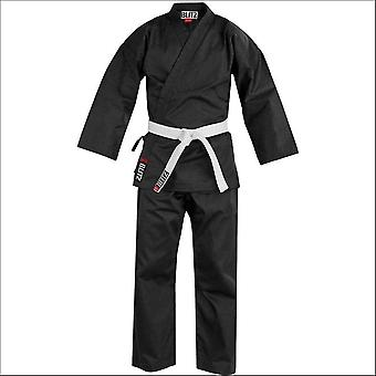 Blitz sports student polycotton karate suit - black