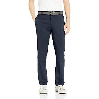 Essentials Men's Standard Straight-Fit Stretch Golf, Navy, Size 40W x 30L