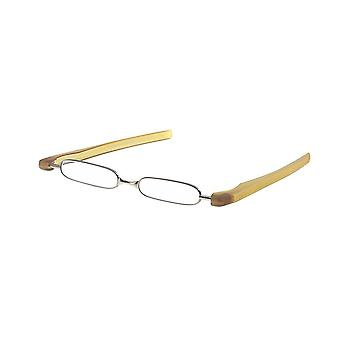 Reading Glasses Unisex Breaker Yellow Strength +1.00 (le-0128C)