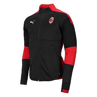 Veste d'entraînement 2020-2021 DE l'AC Milan (Noir)