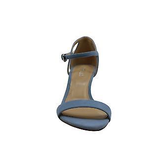 Michael Michael Kors Womens Simone metà sandalo in pelle Open Toe caviglia Casual S....