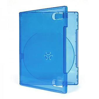 Spieltasche für ps4 sony Patrone Einzelhandel kompatibel - 10 Pack klar blau | zedlabz
