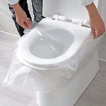 Wegwerp toiletbril dekt mat voor reizen / kamperen - Badkamer accessoires