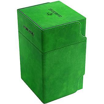 Gamegenic Watchtower 100-Card Convertible Deck Box Green