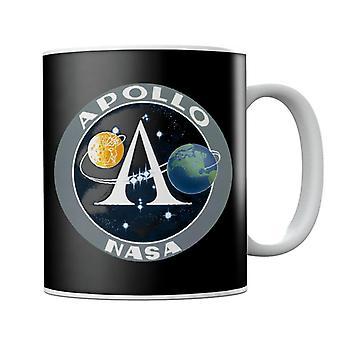 NASA Apollo Program Logo Badge Mug