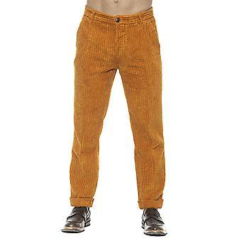 Men's Orange Care Label Pants