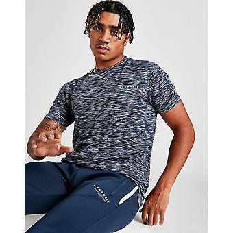 Novo McKenzie Men's Brannon Poly Short Sleeve T-Shirt Azul