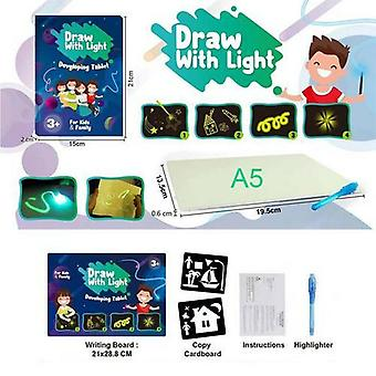English Fluorescent Drawing With Light Fun And Developing Toy