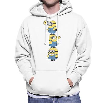 Despicable Me Minions Standing Tower Men's Hooded Sweatshirt