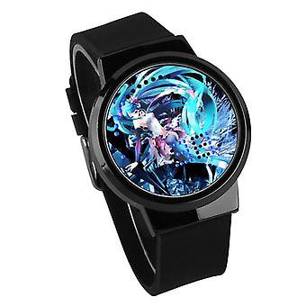 Waterproof Luminous LED Digital Touch Children watch  - Hatsune Miku #20
