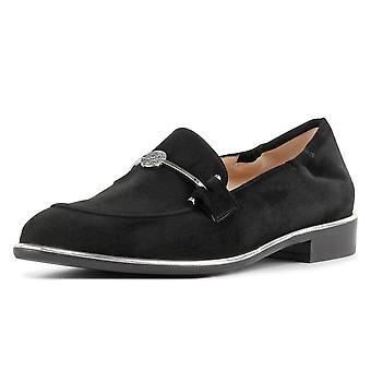 Peter Kaiser Hanka Smart Casual Mocayer Chaussures En Daim noir