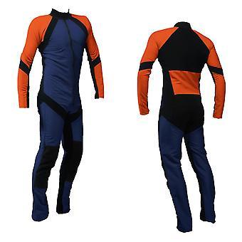 Freefly skydiving suit navy-orange se-09