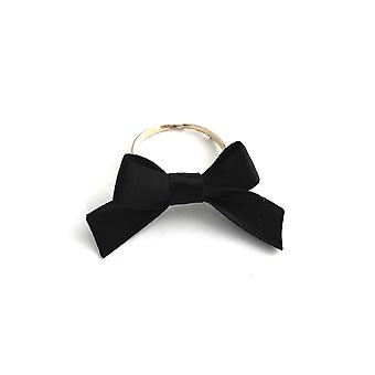 Bow Ring-handcrafted Satin Tye