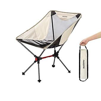 Folding Compact Camping Chair Aluminum Mesh Beach Picnic Heavy Duty Camouflage