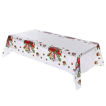 Christmas Tablecloth Kitchen Dining Table Decorations Rectangular