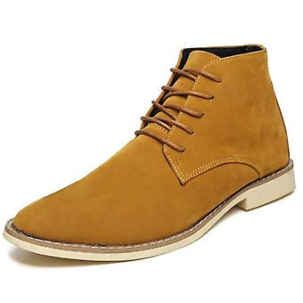 Men High Top Soft Oxfords Male Ankle Snow Boots Winter Autumn Boots Safety