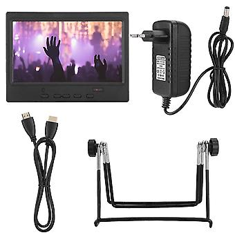 7 Inch Portable Monitor 1024x600 Multi-function Display Support Hdmi/vga/av