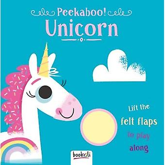 Peekaboo Unicorn by Illustrated by Ian Dutton Created by Bookoli Ltd