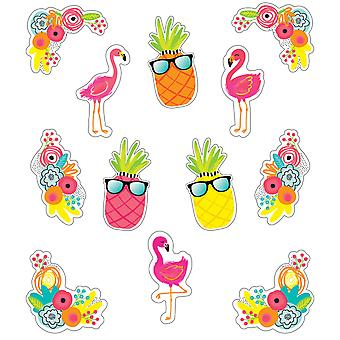 Simply Stylish Tropical Extra Large Cut-Outs, 12 Per Pack, 3 Packs