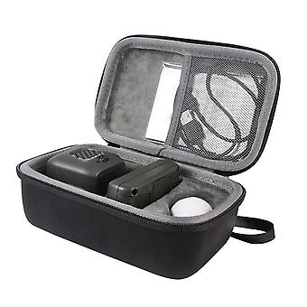 Co2crea hard travel case for boxer interactive ai robot toy (only case sold) (black) black