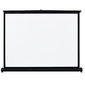 Docooler 40 inch manual pull up projection screen high definition table folding aspect ratio 4: 3