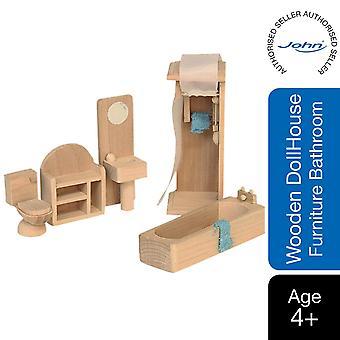 Beluga Clássicos De Madeira Doll House Móveis para banheiro
