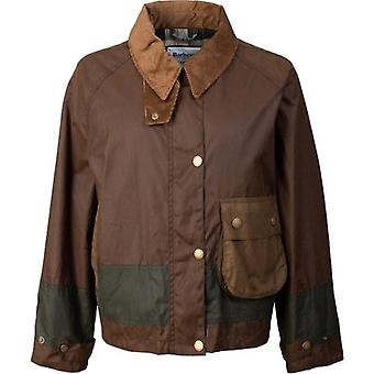 Barbour By Alexa Chung Patricia Short Wax Jacket