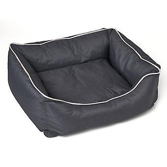 Σκύλος- γάτα μαξιλάρι Bastiaan - Σκούρο γκρι - Μέγεθος L
