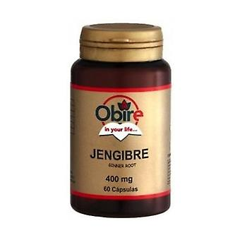Ginger 60 capsules of 400mg
