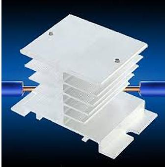 Aluminium-Kühlkörper für Festkörperrelais Einphasen-Ssr-Aluminiumlegierung