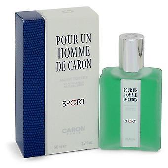 Caron Pour Homme Sport Eau De Toilette Spray By Caron 1.7 oz Eau De Toilette Spray