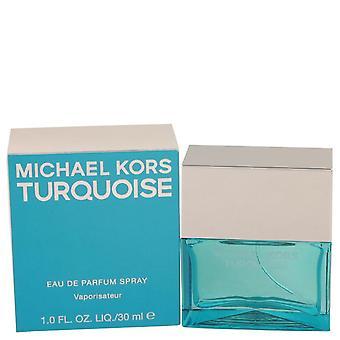 Michael Kors Türkis Eau De Parfum Spray von Michael Kors 1 oz Eau De Parfum Spray