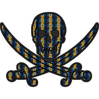 ملصق ملصق القراصنة جاك rackham calico العلم البلد BDS بربادوس