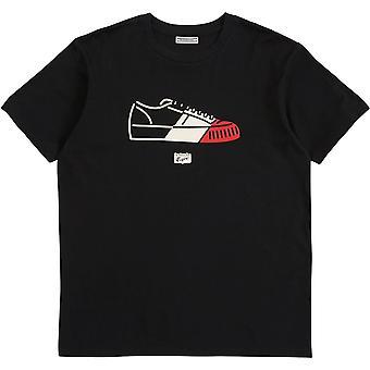 Asics Mens Gráfica Camiseta Curta Manga Curta Tripulação Pescoço T Shirt Tee Top