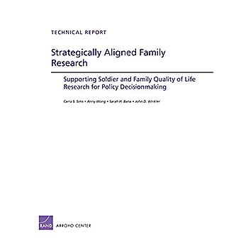 Strategically Aligned Family Research - Supporting Soldier and Family