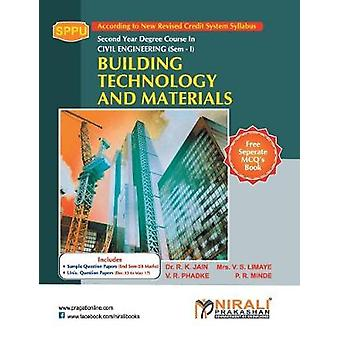 Building Technology And Materials by R K Jain - 9789386084019 Book
