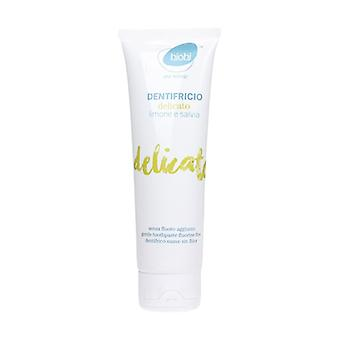 Delicate toothpaste with lemon and sage 75 ml of cream