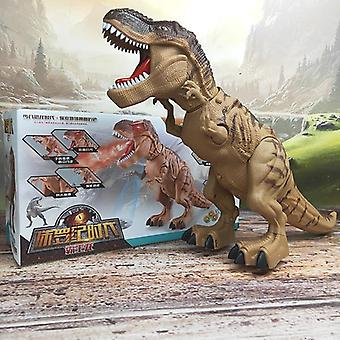 Children Amazing Spray Electric Walking Dinosaur Tyrannosaurus Rex Lay Egg