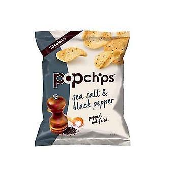 Popchips Sea Salt & Poivre Noir 23g x24