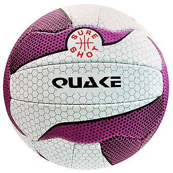 Varma laukaus Netball Quake Match Netball - Koko 5