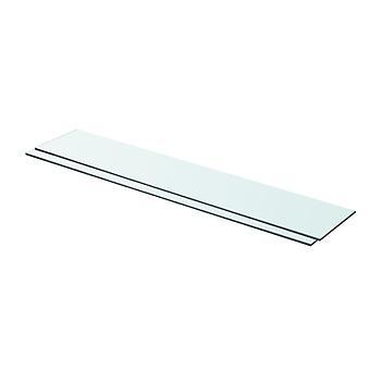 vidaXL hyllyt 2 kpl. lasi Läpinäkyvä 80 x 15 cm