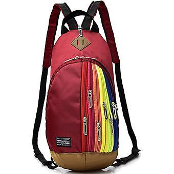 السيدات حقيبة ظهر أزياء قوس قزح كروسبودي حقيبة الصدر
