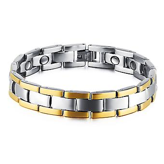 Magnet Gold Men's Bracelet