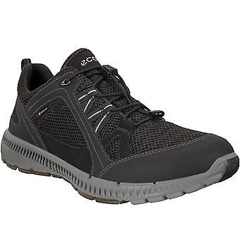 Ecco Mens Terricruise II Outdoors Gore-Tex Walking Hiking Trainers Shoes - Black