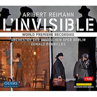 Reimann - L'Invisible [CD] USA import