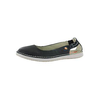 Softinos Womens TOR Leather Slip On Shoes
