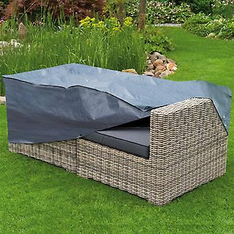 Natuurtuinmeubelenhoes voor 2-persoons lounge 170x90x60 cm